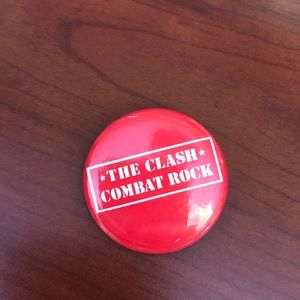 Other - vintage Clash band pin